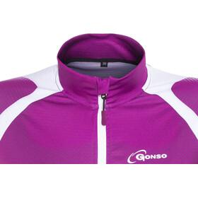 Gonso Levette V2 Fietsshirt lange mouwen Dames roze/violet